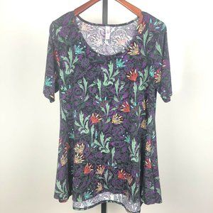 LuLaRoe Womens XL Perfect T Top Shirt Paisley